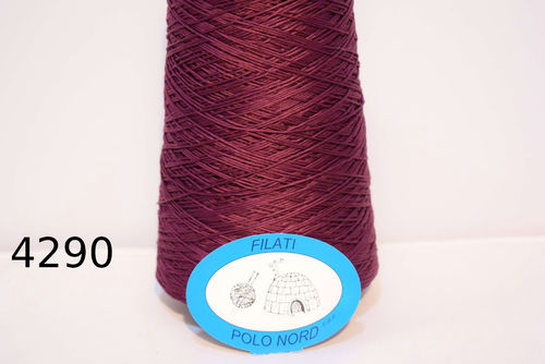 100%cotone red and purple 4290 100 grammi